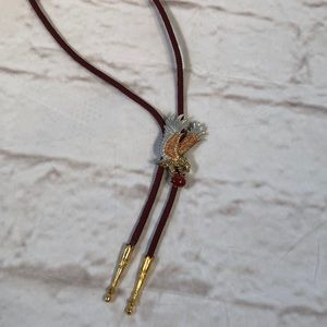 Eagle rope necklace